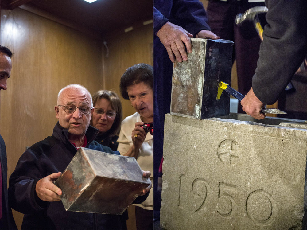 Time Capsule Opening at Saint  Polycarps Village Somerville