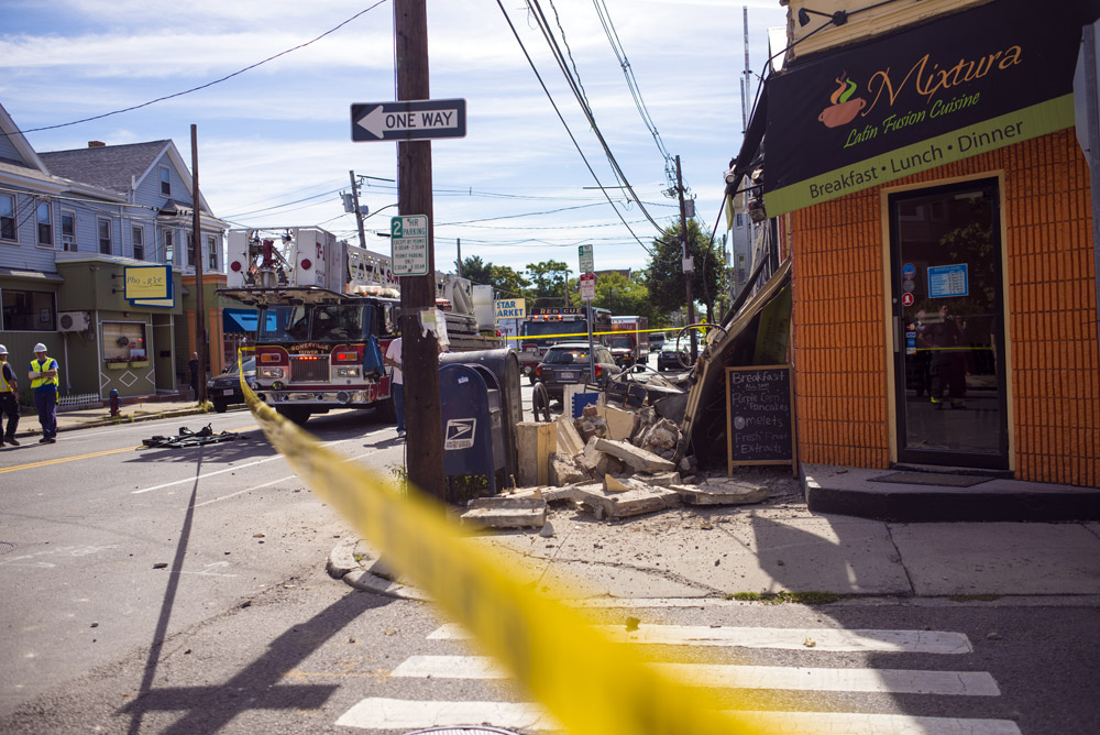 Beacon St., Somerville Building Collapse