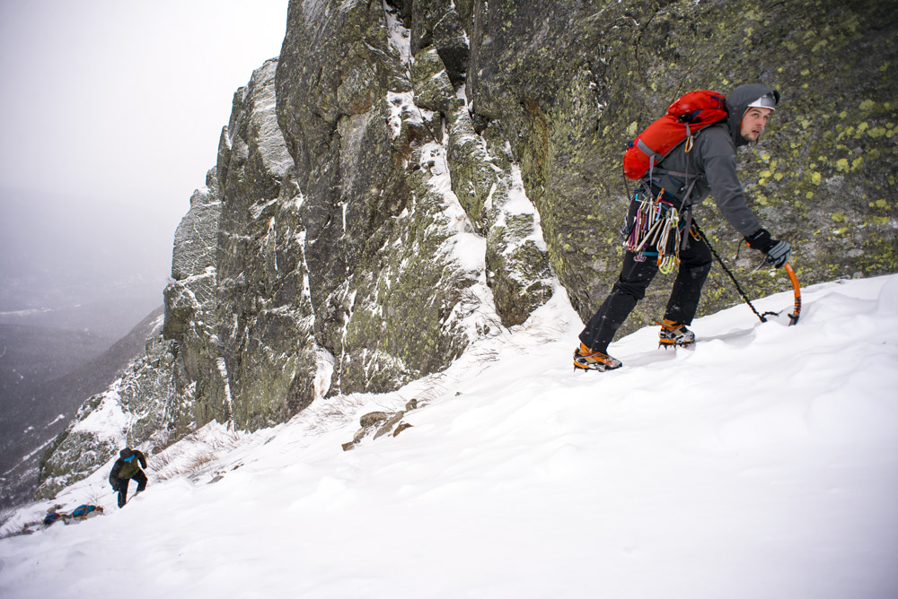 Approaching Central Gully