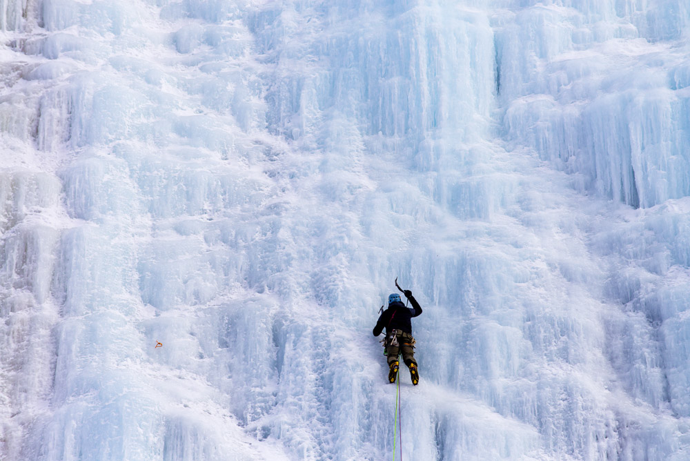 Lake Willoughby Ice Climbing