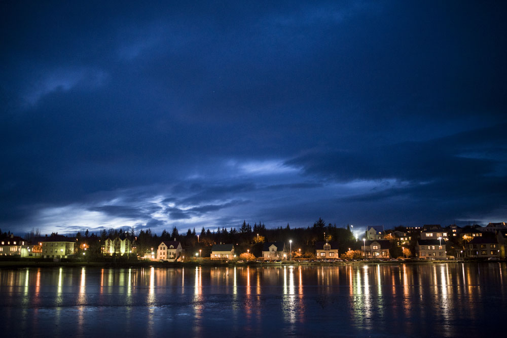Reykjavik City Night
