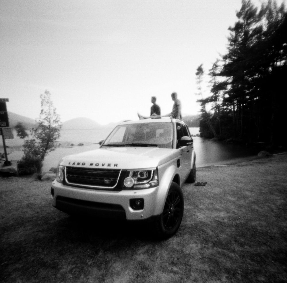 Pinhole Photo in Acadia