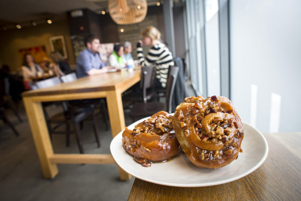 Sticky Buns at Flour Bakery in Cambridge, Massachusetts