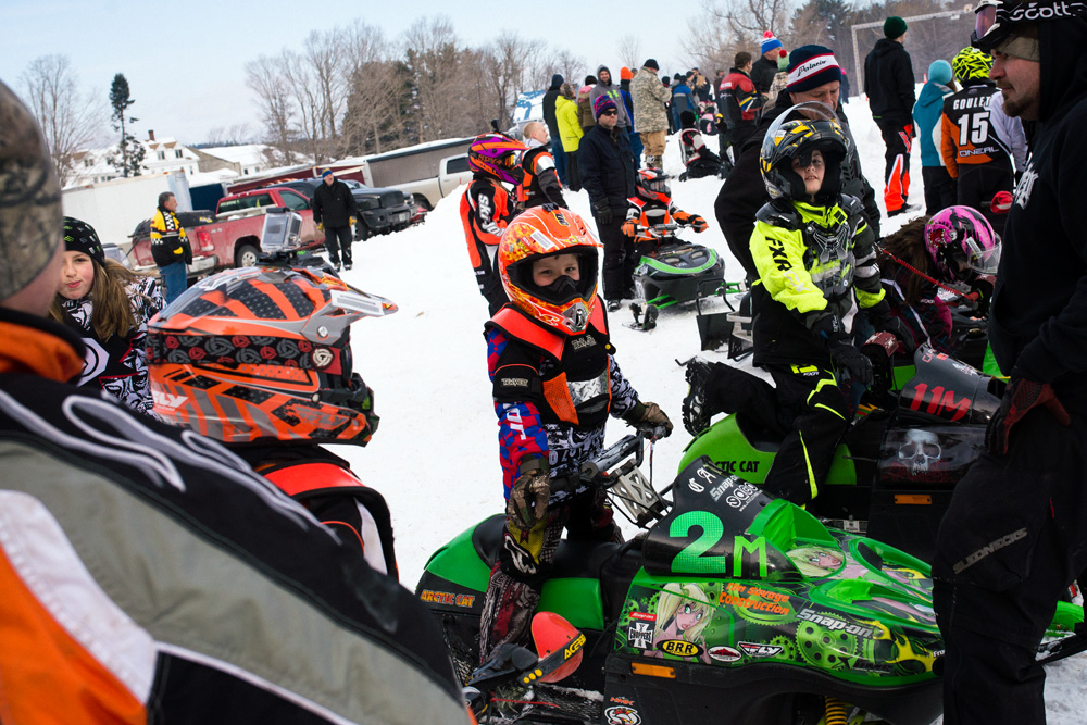 Northwood Vintage Snowmobile Race