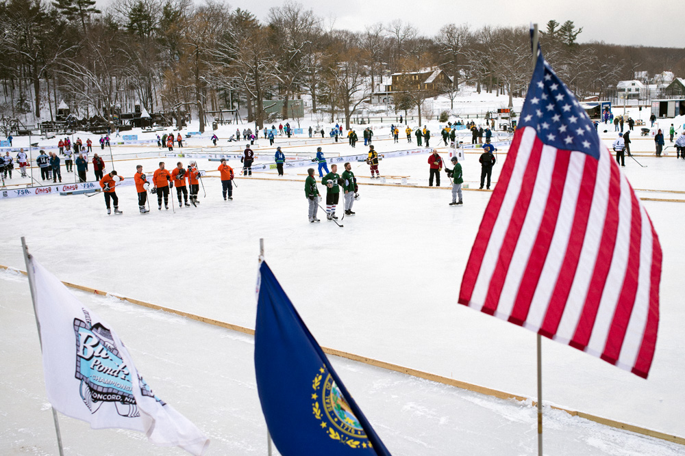 Black Ice Pond Hockey Tournament