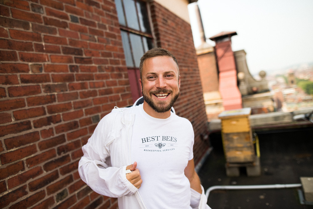 Best Bees Boston Founder Noah Wilson-Rich